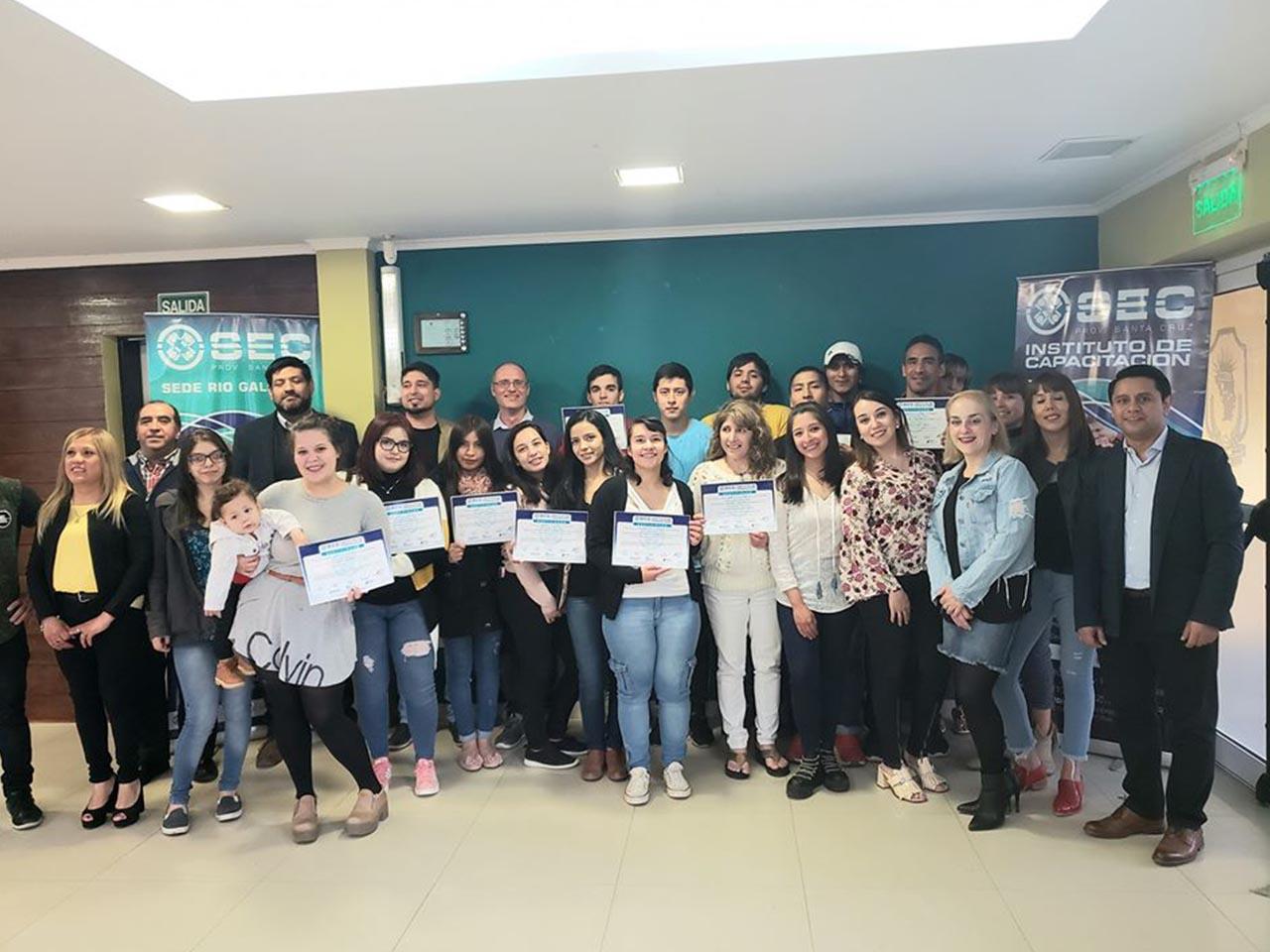 Entrega de Certificados Formación Profesional en El Calafate