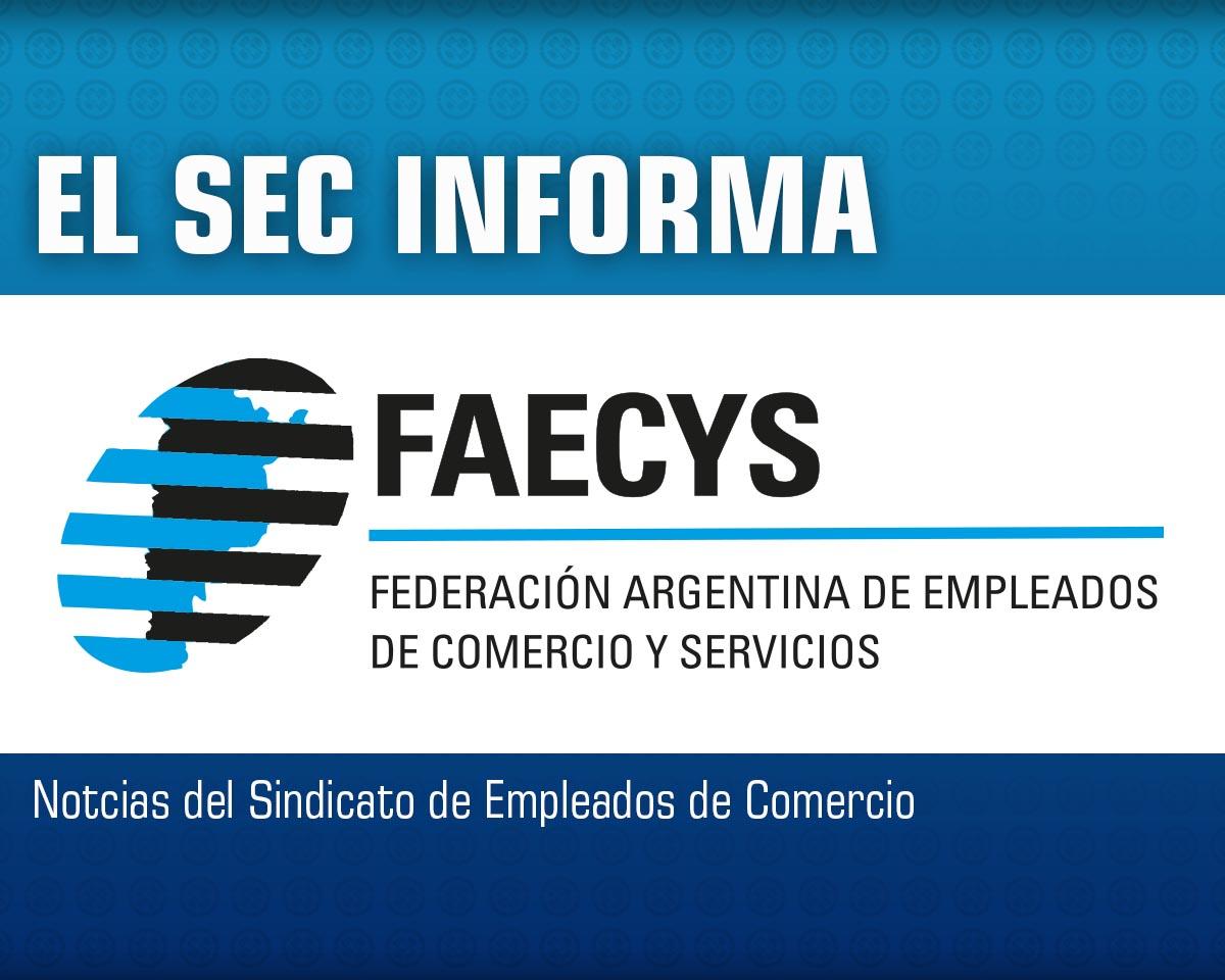 Aclaración de FAECYS con respecto a publicaciones periodísticas.