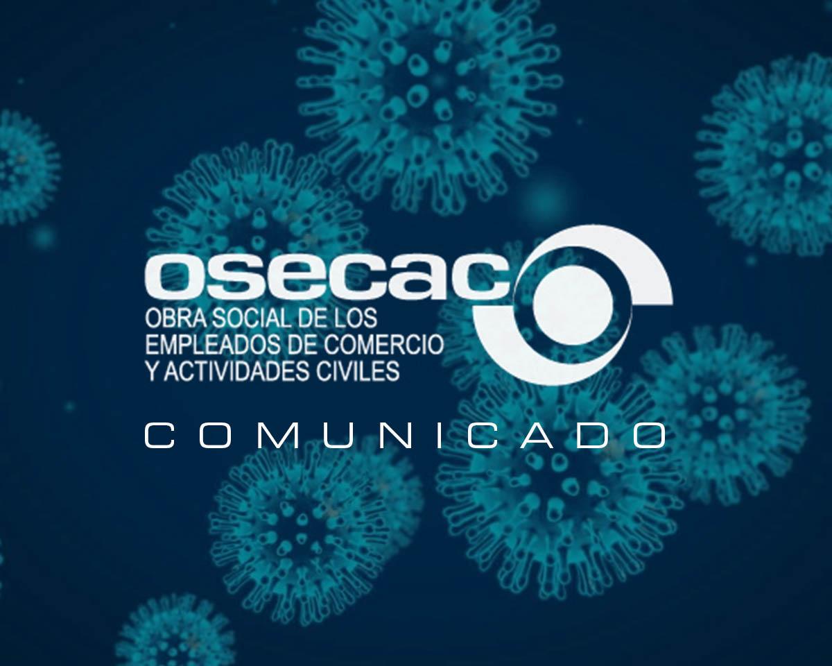 OSECAC – El COVID19 es una enfermedad de carácter profesional