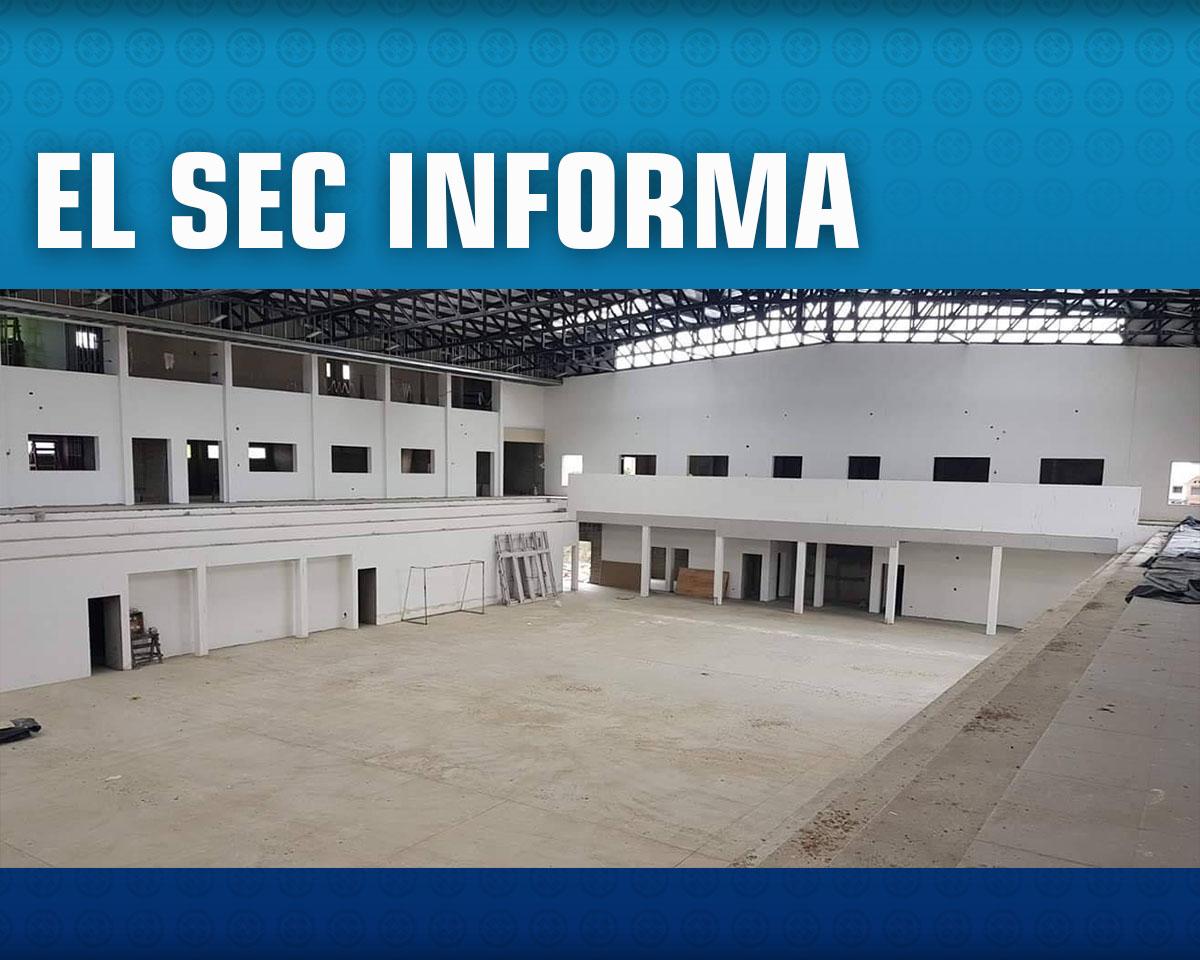 Avances Polideportivo SEC / Noviembre