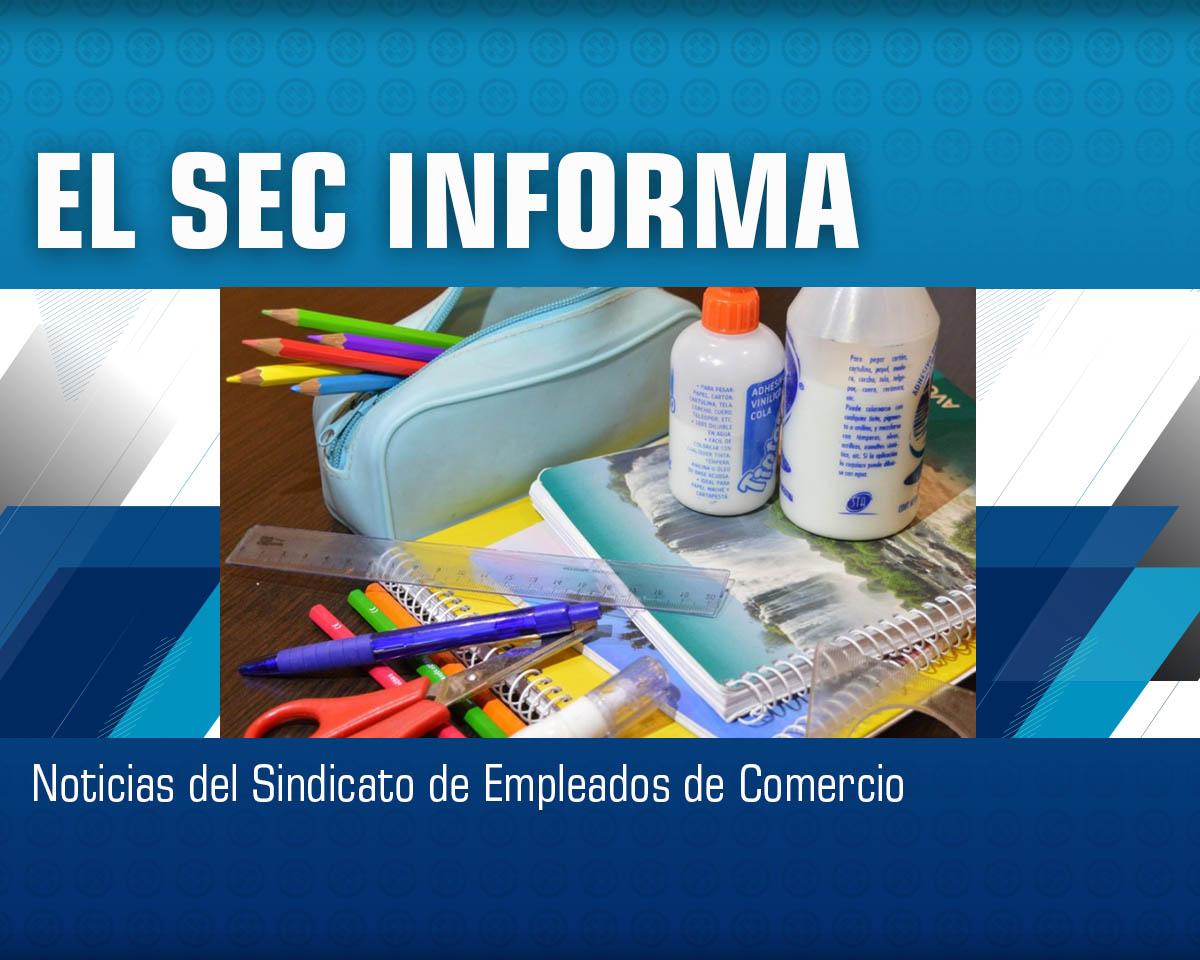Inscripción para solicitud de guardapolvo y set de útiles escolares