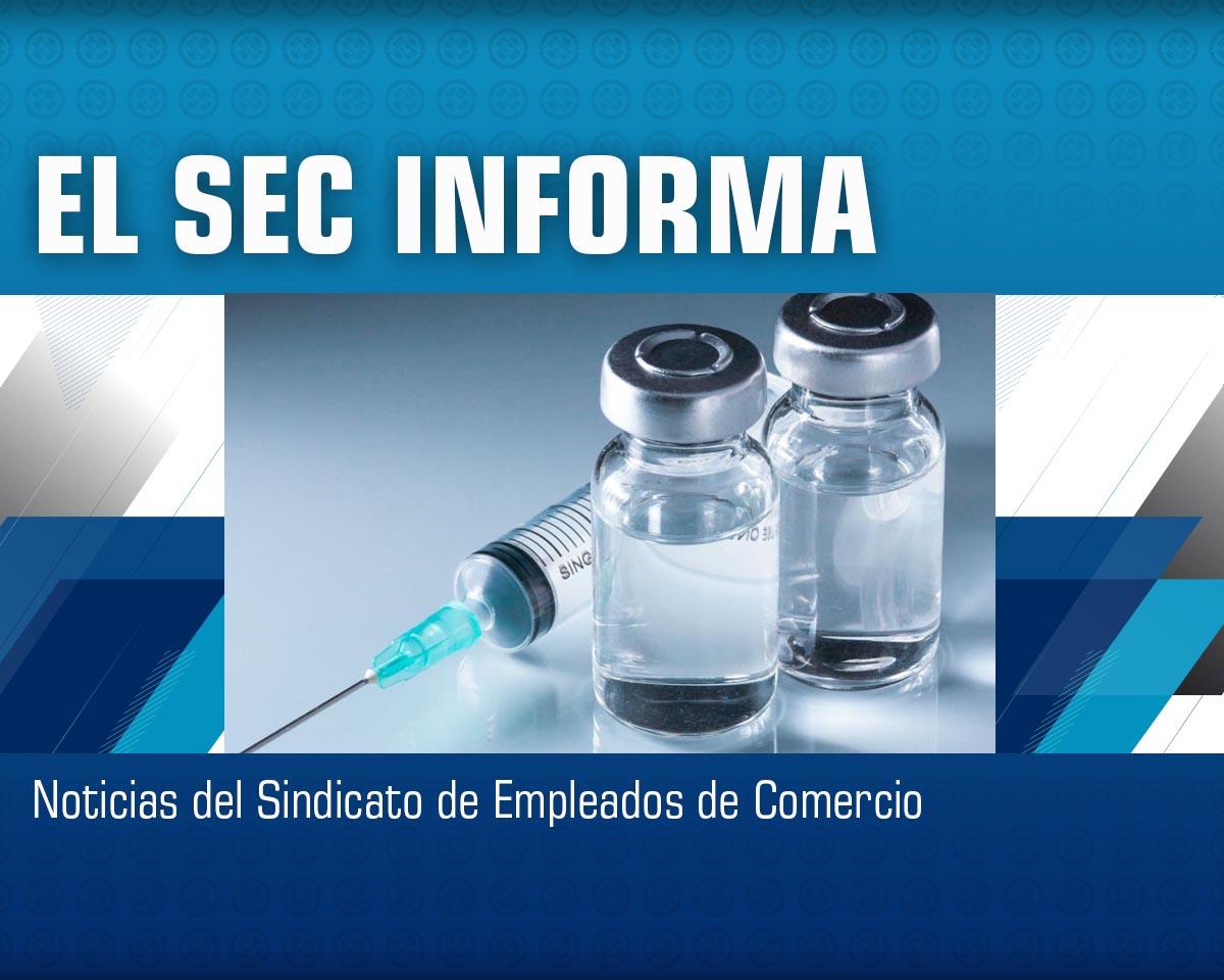 Vacunación para Empleados de Comercio