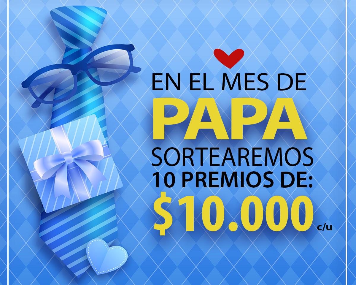 """Más de 300 mercantiles se inscribieron para el sorteo del """"Día del Padre"""""""