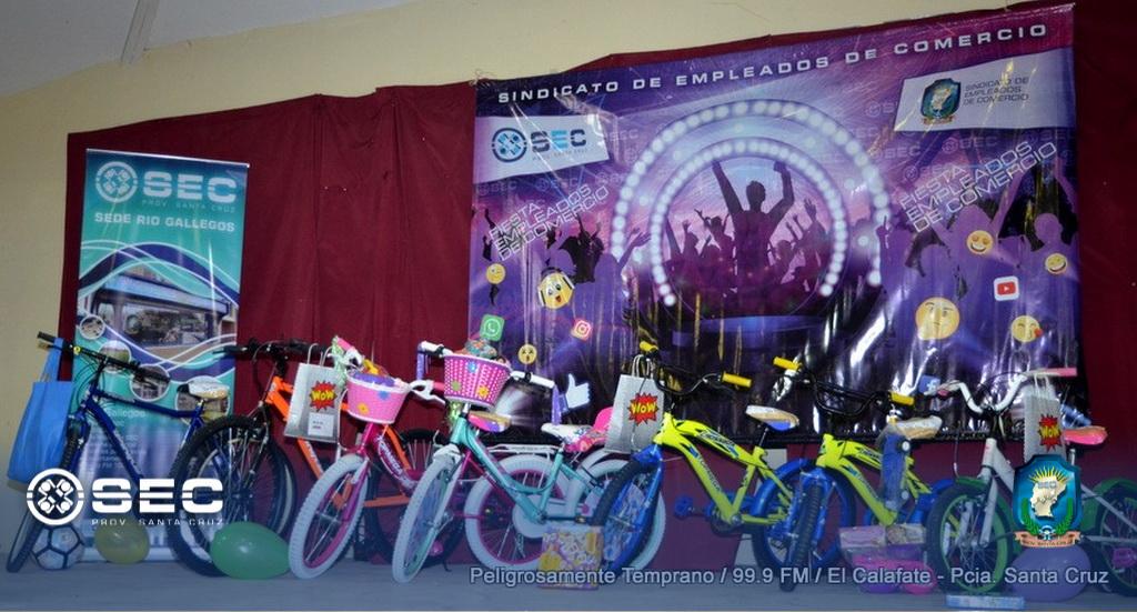 SEC: Conocé los ganadores del sorteo de las bicicletas